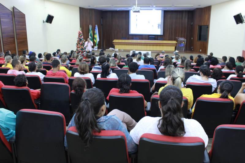 Fotos - Palestra Motivacional no CRER em Goiânia